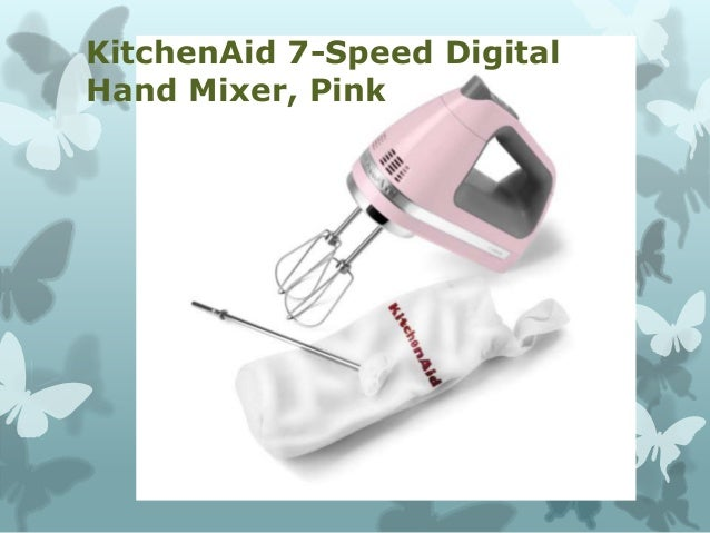 Kitchenaid Khm9pwh best hand mixer kitchen top choice