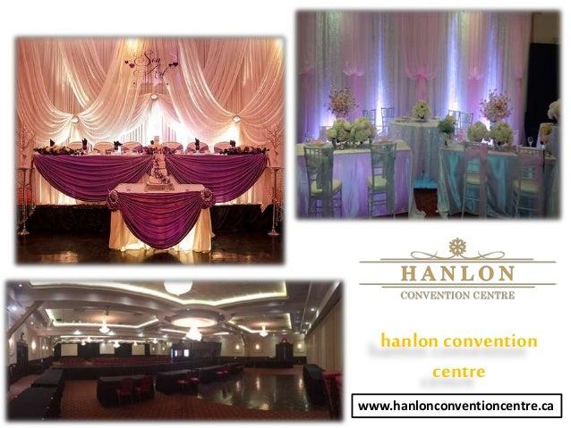 hanlonconvention centre www.hanlonconventioncentre.ca