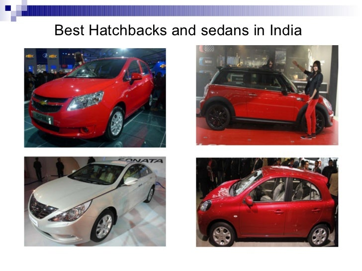 Best Hatchbacks and sedans in India