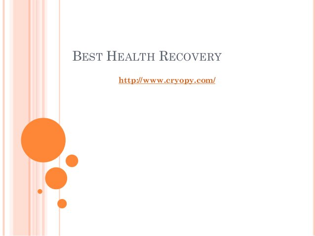 BEST HEALTH RECOVERY http://www.cryopy.com/