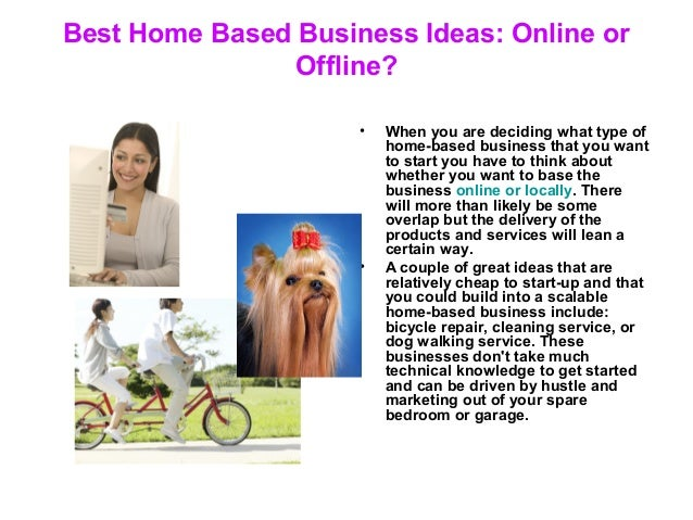 3. Best Home Based Business Ideas: ...