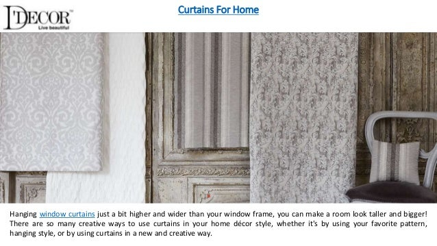 7. Curtains For Home ...