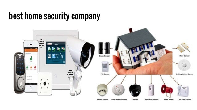 20 best home security company
