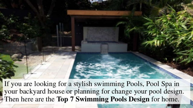 Best home swimming pool design for Best home swimming pools