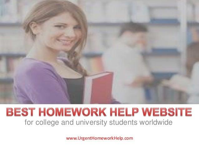 best homework help websites for college students