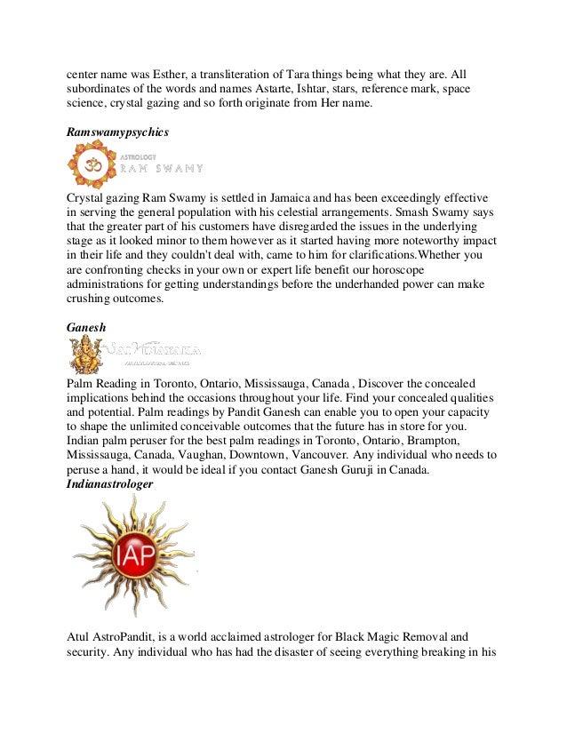 Best horoscope astrologer in toronto (updated content 2019)