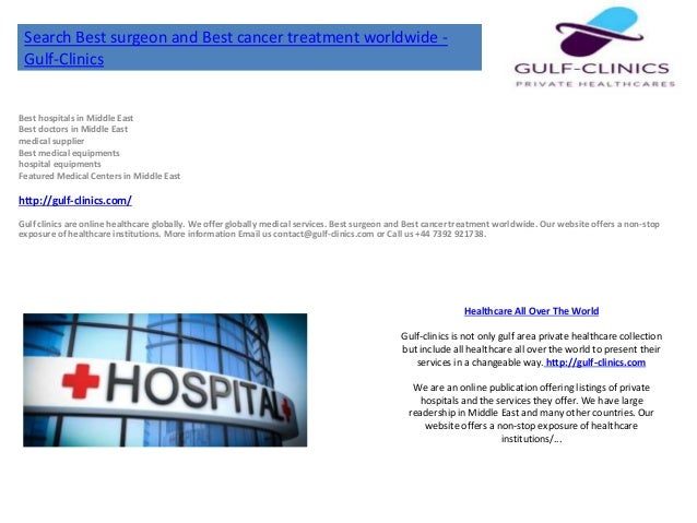 Best hospitals in middle east