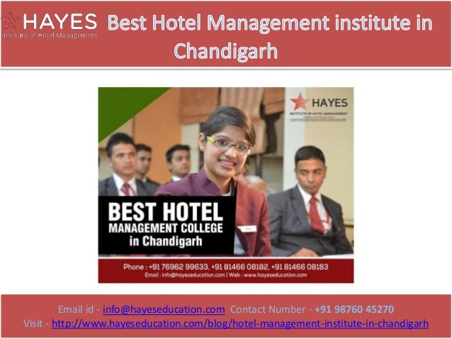 Email id - info@hayeseducation.com Contact Number - +91 98760 45270 Visit - http://www.hayeseducation.com/blog/hotel-manag...