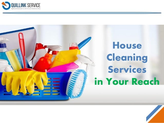 Wonderful House Cleaning Services In Your Reach ...