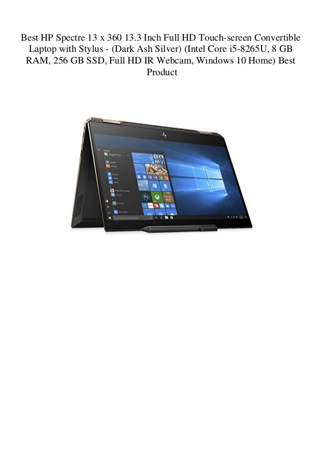Best HP Spectre 13 x 360 13 3 Inch Full HD Touch-screen Convertible L…
