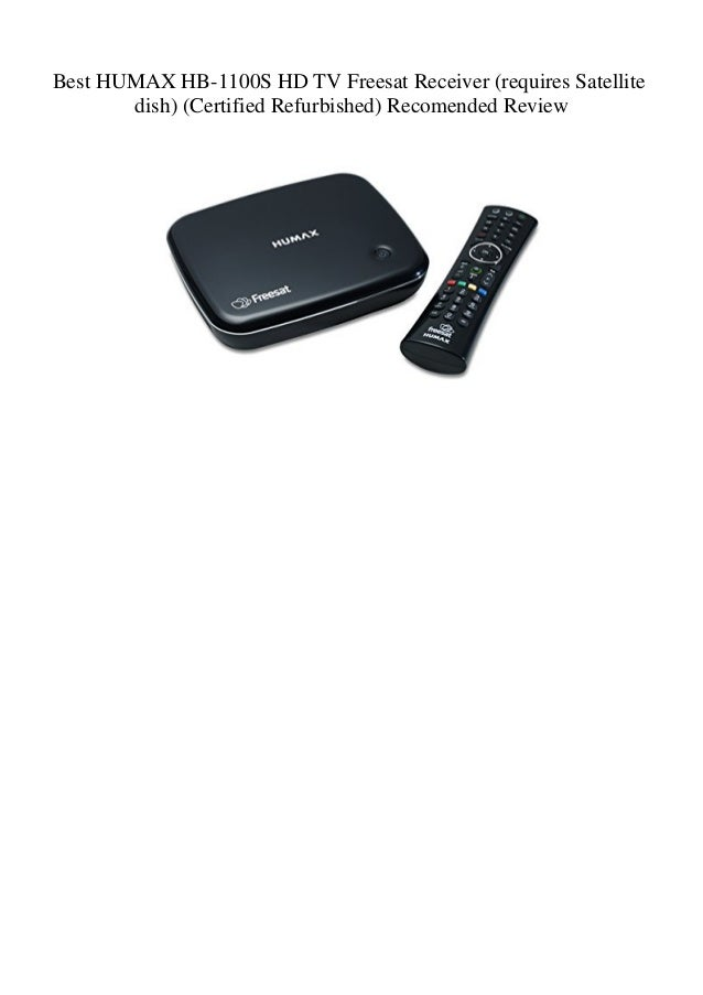 Best HUMAX HB-1100S HD TV Freesat Receiver (requires