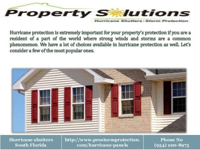 Best hurricane protection Slide 2