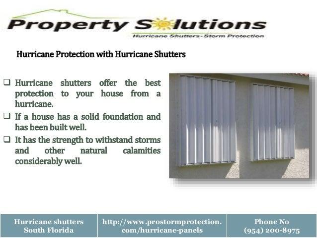 Best hurricane protection Slide 3