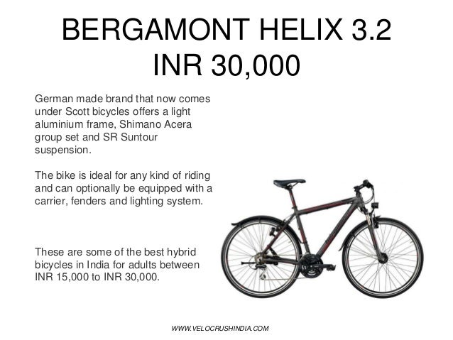 Best Hybrid Bicycles in India Updated 2018