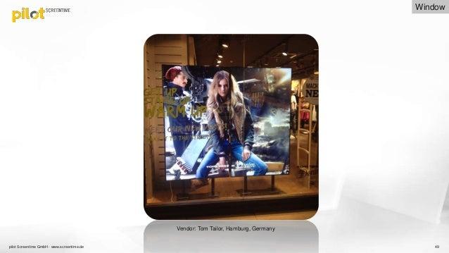 3de8210ab0a000 Best in Class Digital Signage installations  Shop Window Screens