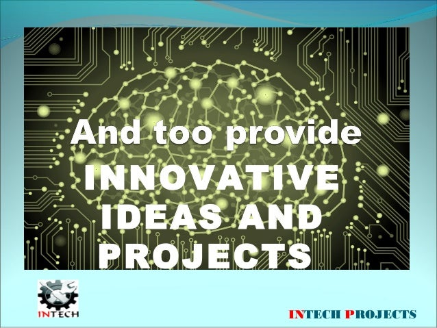 Best Innovative Project Ideas For Engineering