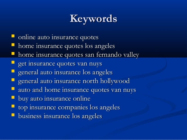 Best Insurance Companies Los Angeles