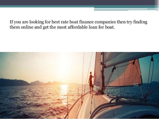 Best Interest Rate On Boat Loan Boat Loans