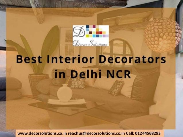 best interior decorators in delhi ncr gurgaon noida