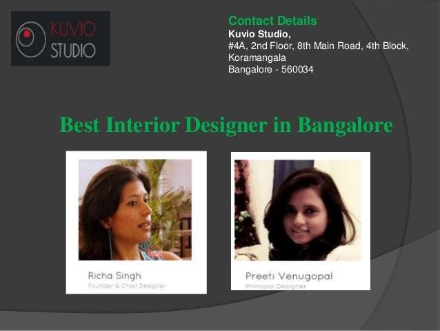 Best interior designer in bangalore