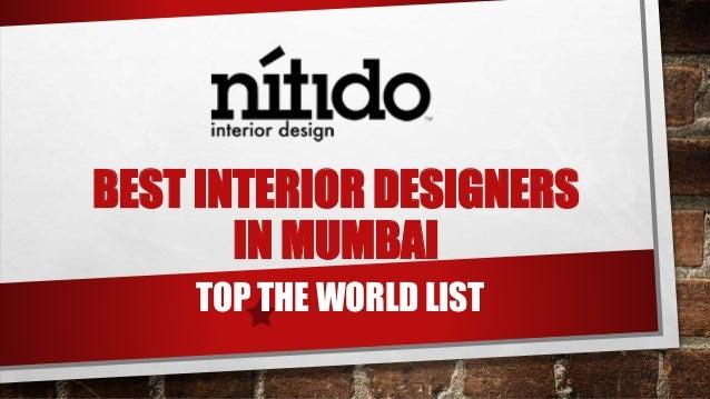 Best Interior Designers In Mumbai Top The World List