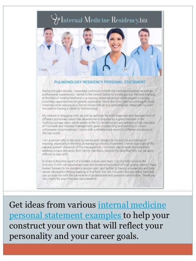 medical residency essay Learn more about our medical residency, fellowship and other personal statement services and it requires a lot more than simply being a good essay.