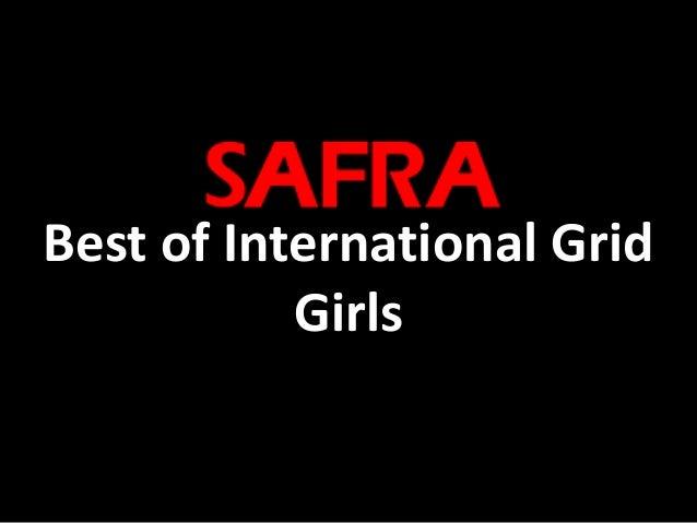 Best of International Grid Girls