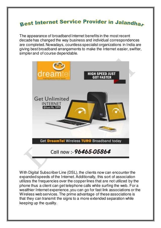 Best Internet Service Provider in Jalandhar