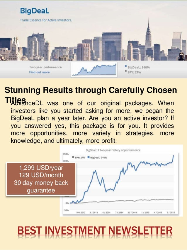 Top investment newsletters 2008top investment newsletters