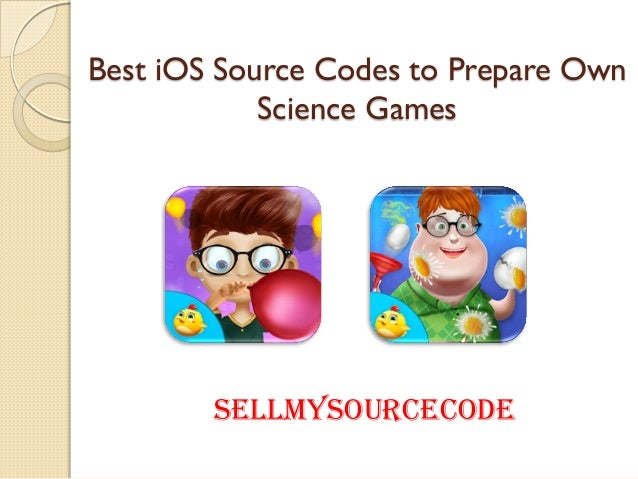 Best iOS Source Codes to Prepare Own Science Games SellMySourceCode