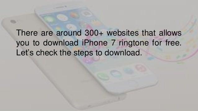 Free iPhone Ringtone download