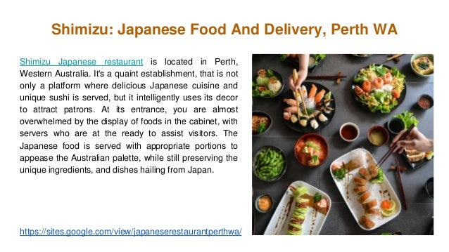 Best japanese restaurant perth wa 4 shimizu japanese food and delivery perth forumfinder Choice Image