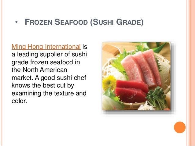 Sushi Grade Fish Market Of Best Japanese Restaurant Wholesale