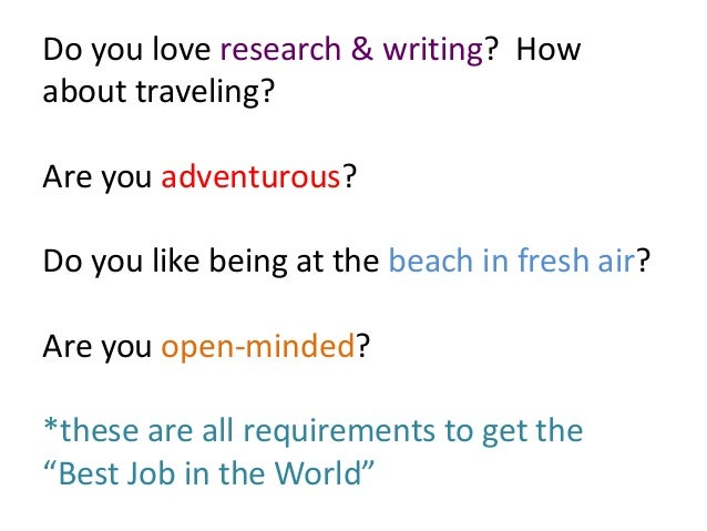 what is the best job