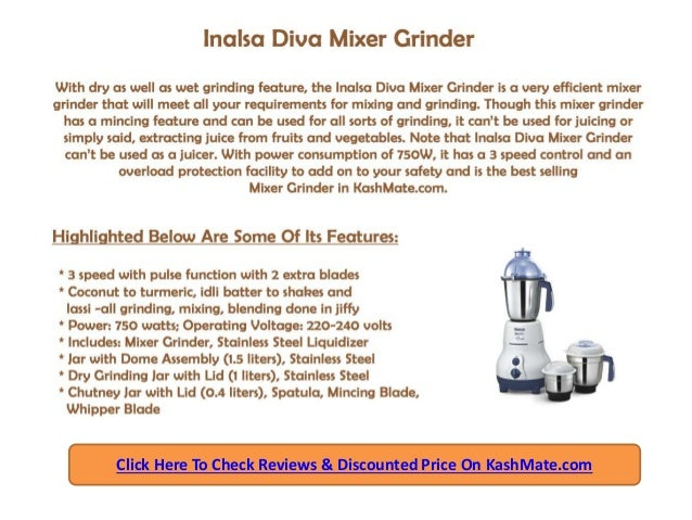 Best Juicer Mixer Grinders in India – A Detailed Review