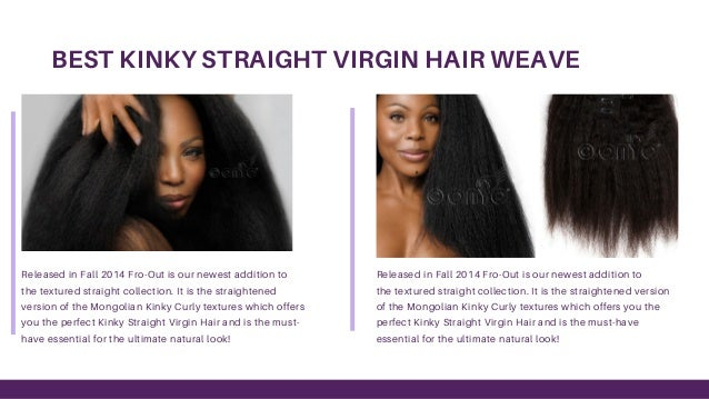 Premium Quality Kinky Straight Hair Extensions