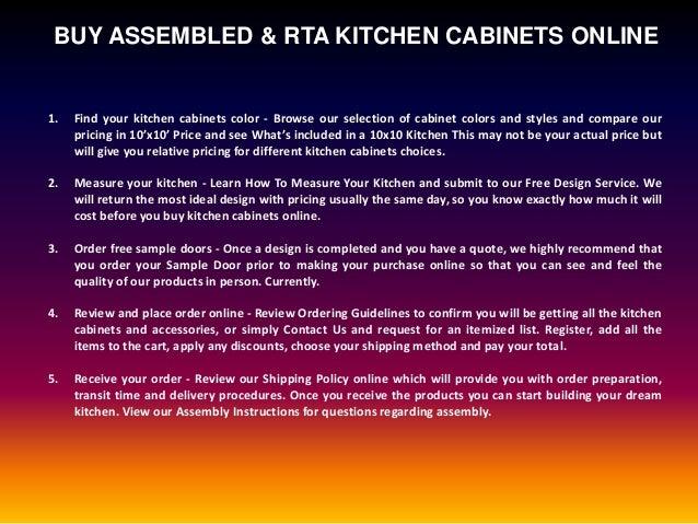 Best Kitchen Cabinets Online