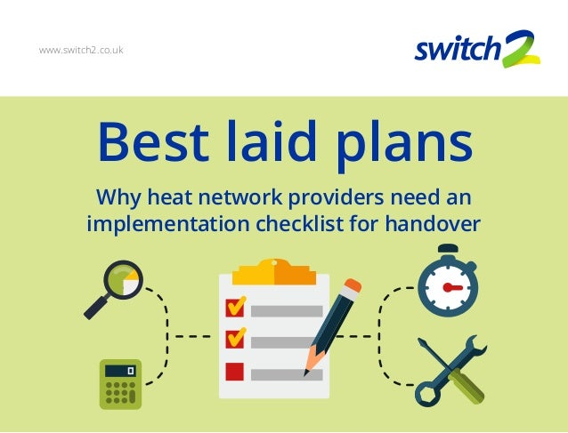 Best laid plans: Why Heat Network Providers Need An
