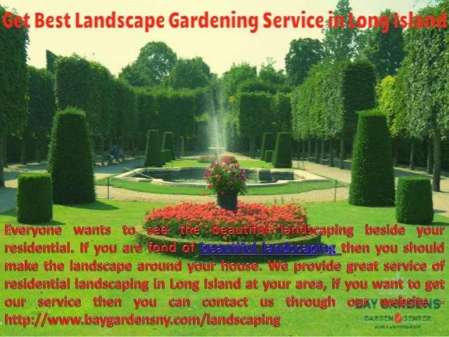 Best Landscape Design Service At Long Island Bay Gardens