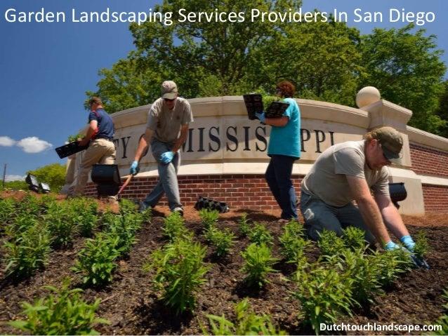 Garden Landscaping Services ...