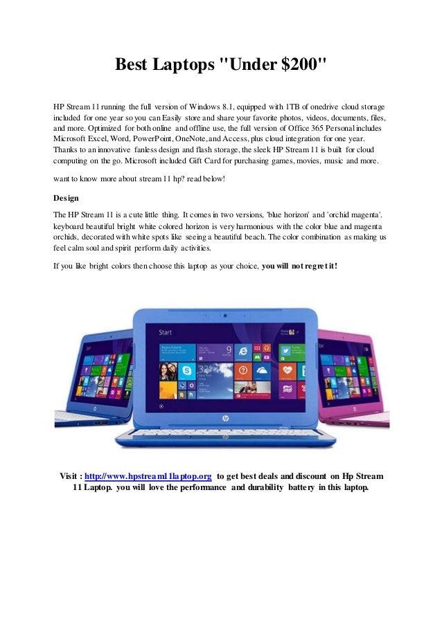 best laptops with windows 8.1