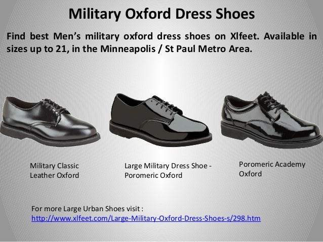 Best Large Men Uniform Shoes From Xlfeet