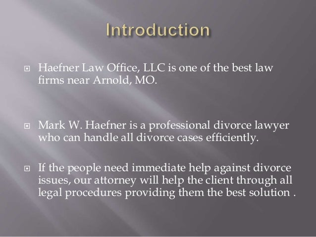 An introduction to the issue of divorce