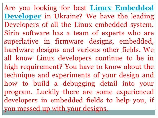 Best linux embedded developer in ukraine Slide 2