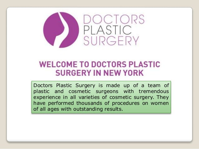 Best liposuction doctor - Doctor's Plastic Surgery in New York