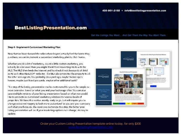 Best Real Estate Listing Presentation for iPad
