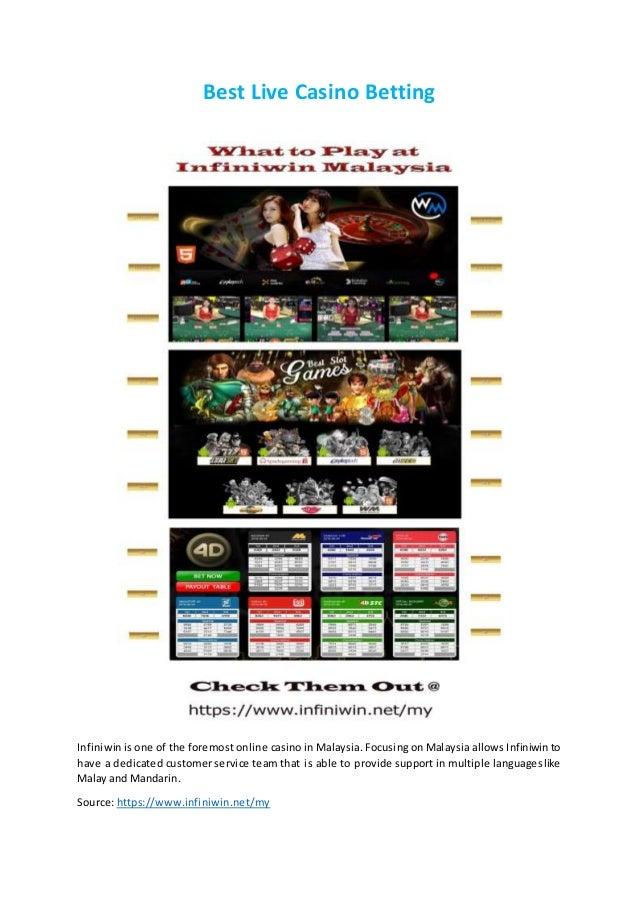 Infiniwin live casino no deposit