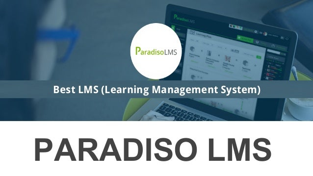 PARADISO LMS Best LMS (Learning Management System)