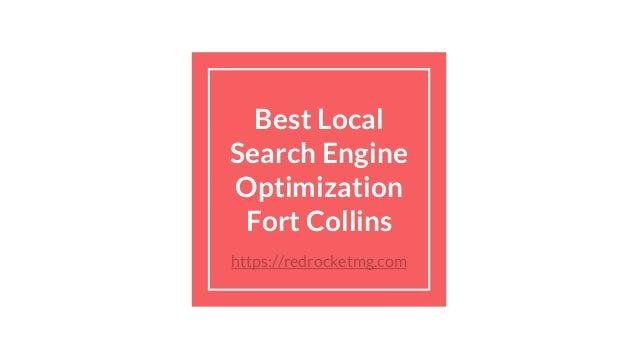 Best Local Search Engine Optimization Fort Collins https://redrocketmg.com