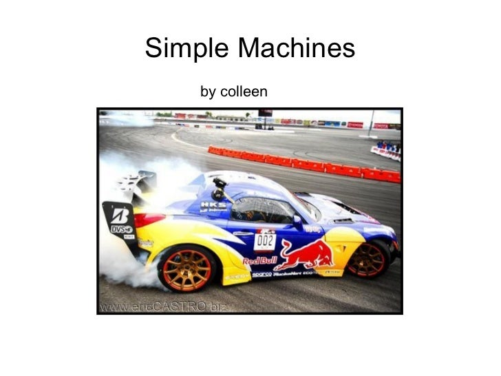 Simple Machines by colleen